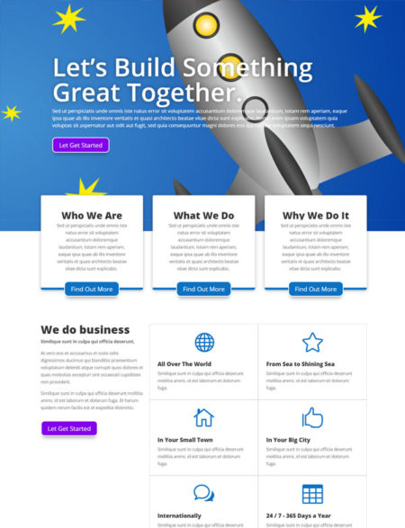 Business Divi Layout Pack