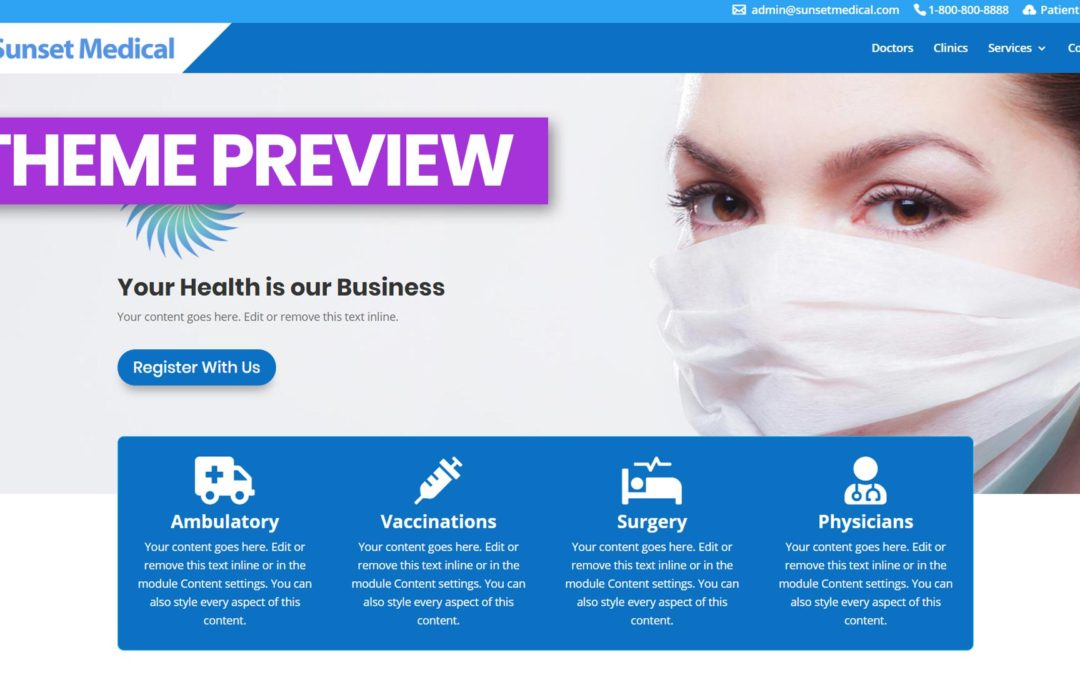 Video Review: MEDz Divi Medical Layout