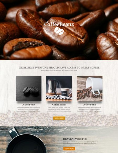 Coffee house divi child theme