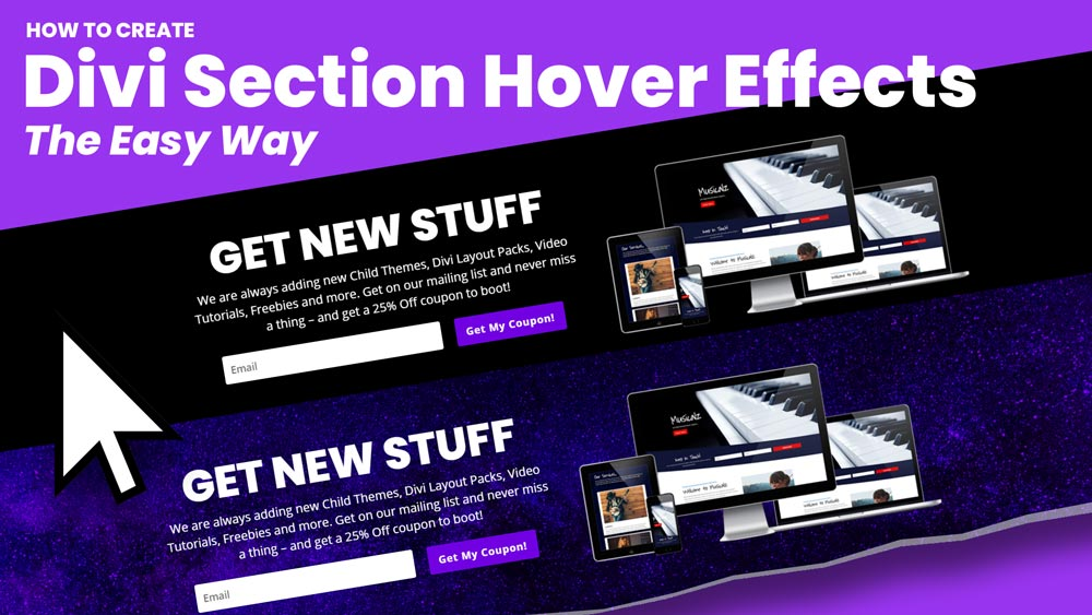 How to Create Divi Section Hover Effects