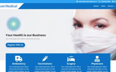 medical divi layout
