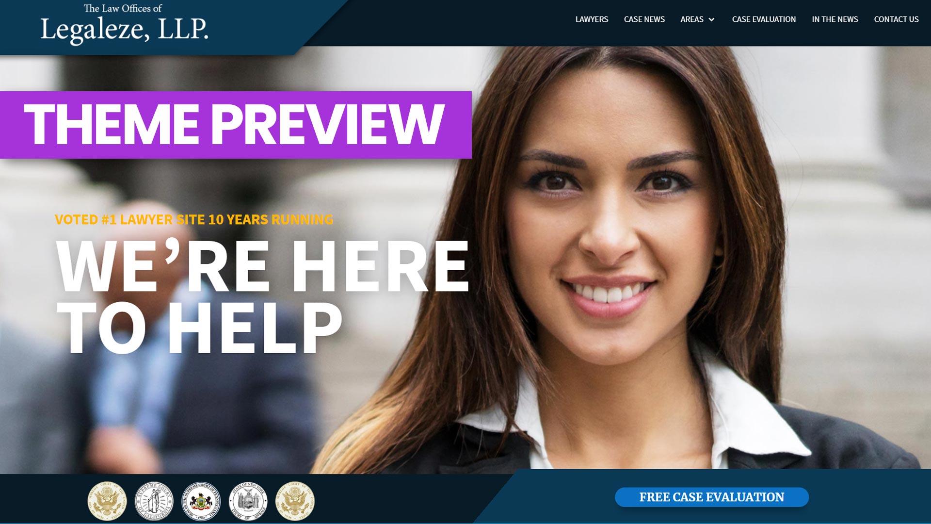 Video Review: Legaleze – A Divi Attorney Layout